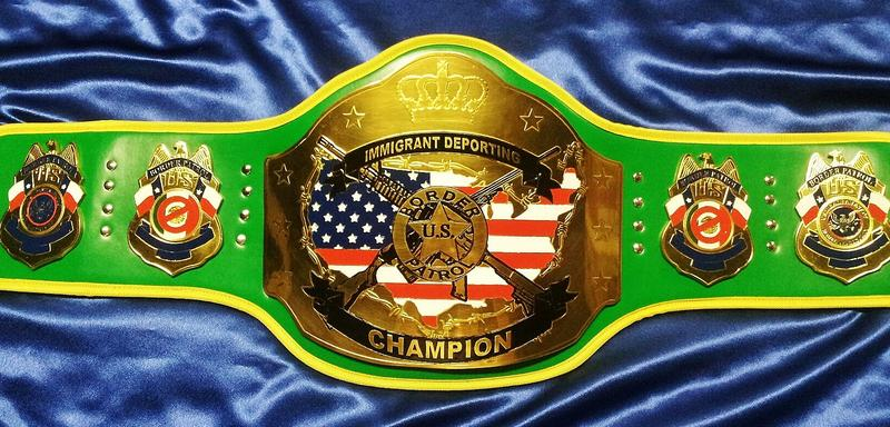 Immigration Deporting Championship Belts
