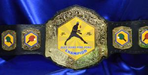 ping pong corporate custom championship title belt