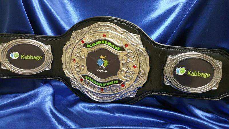 Atlas Dc Custom Championship Wrestling Boxing Belt