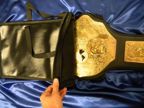 title belt carrying case wrestling boxing protective box