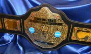 gold custom championship belt walmart