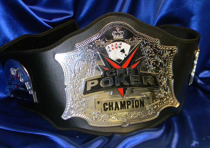 custom texas holdem championship poker belt