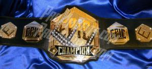 custom belt wrestling tag team world championship