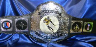 superfriends custom ff fantasy championship title belt