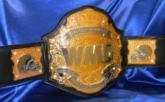 gold and chrome awesome custom fantasy football ff title belt