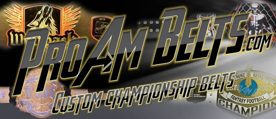 Custom Championship Title Belts and awards