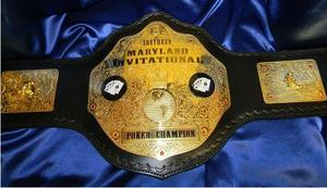 gold heavyweight fantasy football championship wrestling belt
