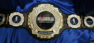 wa;ling dead talking dead championship award title belt
