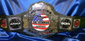 emperor chrome ARMA custom military championship title belt