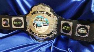 twin peaks dipset carshow best custom title championship belt