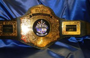 custom championship title belt fantasy football award