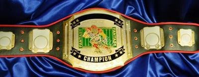 custom championship title belt fantasy football proambelts