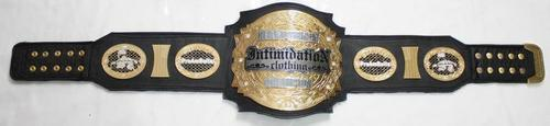 intimidation custom championship mma belt wrestling ufc boxing