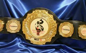 weight loss challenge award custom wrestling belt