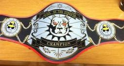 king of the streets customized top dog pitbull belt