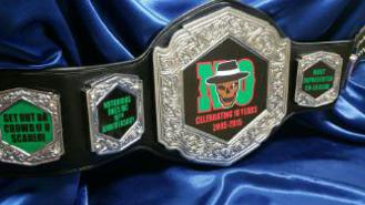 championship boxing belt wrestling heavyweight fantasy football belt