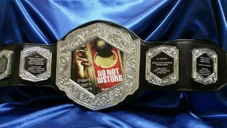 horror film custom championship boxing belt
