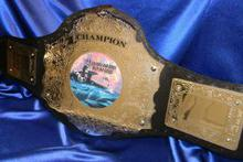custom sailor and armed forces military championship title belt award