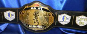 fantasy football championship custom belt decature