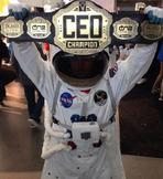 custom chcustom championship title belt ceo world astronaut custom championship title belt