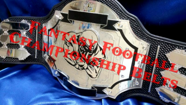 fantasy football championship belt custom title trophy ring award