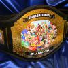 Nintendo super smash brothers custom championship title belt, inspired by video game pro and ammy and the love of the gaming world