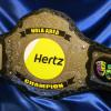 Hertz award for the best in the business. Hertz rental car service now has a custom championship world title belt from ProAmBelts, make sure to check them out