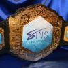 adult entertainment championship title belt sapphire club promo award