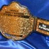 famous big gold wrestling replica championship belt for fighting spirit indy league. This huge and big stock belt can be customize for any occasion relating to wrestling, boxing, mma,