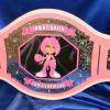 breast cancer survivor championship belt. This was a great project to work on and was given by a customer to their friend who beat cancer! what a perfect gift and celebration award