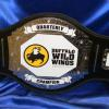 bw3 buffalo wild wing championship custom title belt by proambelts. This title belt for the best of the best in the chicken and buffalo wing business