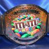 mm world headquarters ny custom championship title belt is a huge and heavy stock belt called prophet premier being almost 10 lbs