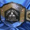 lighthouse lounge fantasy football wrestling replica belt