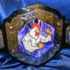 angry lightning chicken belt for the best in the food business being a stock belt vicious chrome replica belt