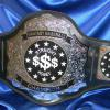 fantasy baseball championship belt is a stock belt customized named Emperor and this annual award will be passed awarded to show who is the best in mlb fantasy league