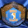 bro league custom fantasy belt was a great project and this new sport and league has been seeing great success with their proambelt design and made by www.proambelts.com