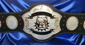 top dog custom championship pitbull mma belt