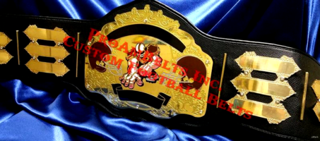 custom fantasy football championship belt title award trophy fanduel draftkings
