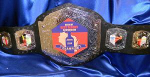 bloody mary custom championship title belt