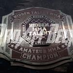 hidden talent mma championship title belts ProAmBelts