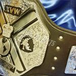 stacked championship proam belts wrestling big replica belts