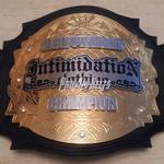 intimidation clothing custom championship title belt mma proambelts awards