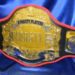 custom championship title belt premier stacked belts with 2 layers of metals and engraving and etching
