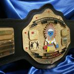 booth display championship belt award stacked premier heavyduty heavyweight replica belt
