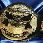 This belt was made specifically for KSU Kennesaw Football team and awarded to the most outstanding players each game, this belt is not for sale/resale for it was specially built for KSU