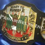 ready to rumble title belt fantasy football custom championship stacks of metal plates with a 3d look trophy belt