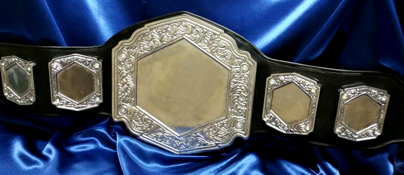 custom championship blank belt heavy metal award