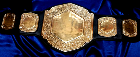 intercontinential championship custom belt