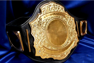 metal custom championship heavyweight belt