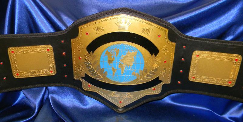 Blank Championship Belts